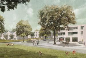 Stadtteilzentrum Wulsdorf, Warringsgelände Bremerhaven