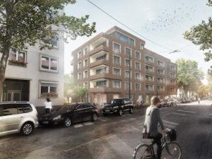 Wohnungsbau – Realisierungswettbewerb Rheinstrasse 17–23 Bremerhaven