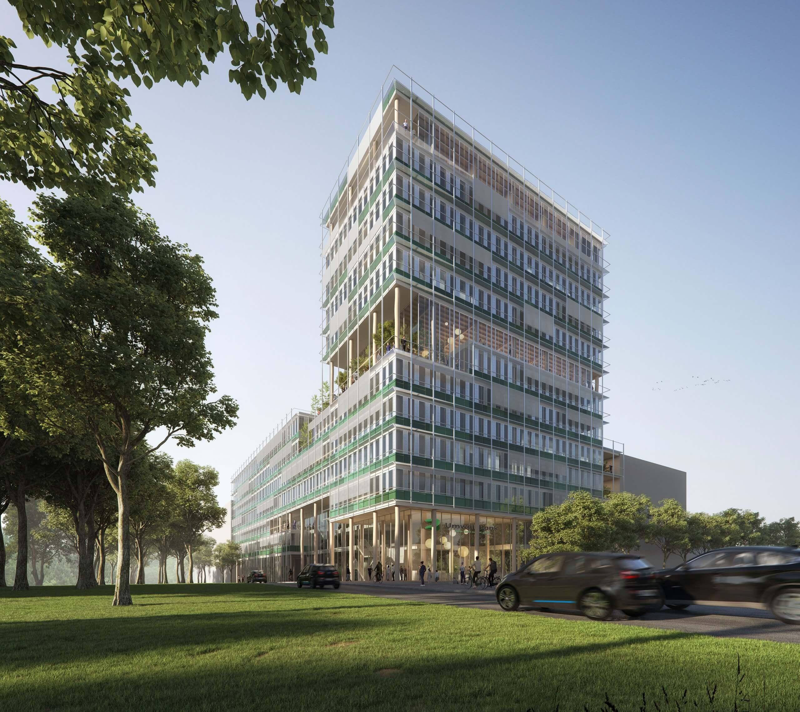 Neubau UmweltBank Nürnberg