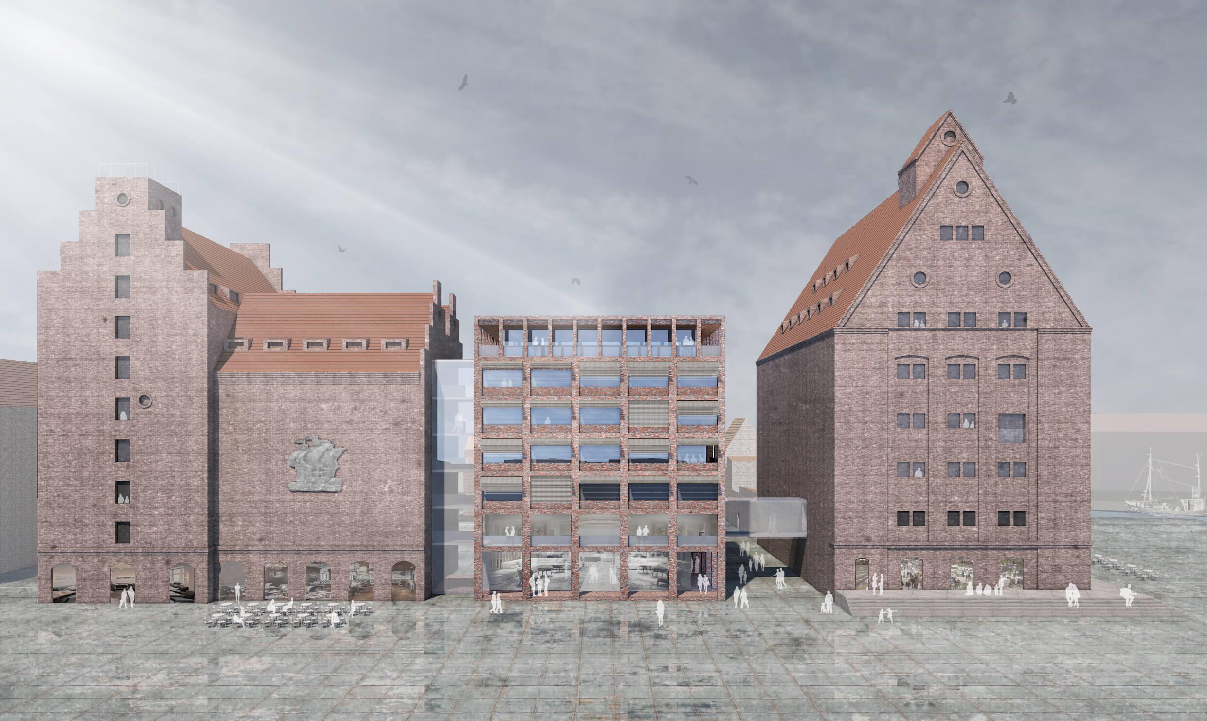 Nördliche Hafeninsel Stralsund Quartier 65