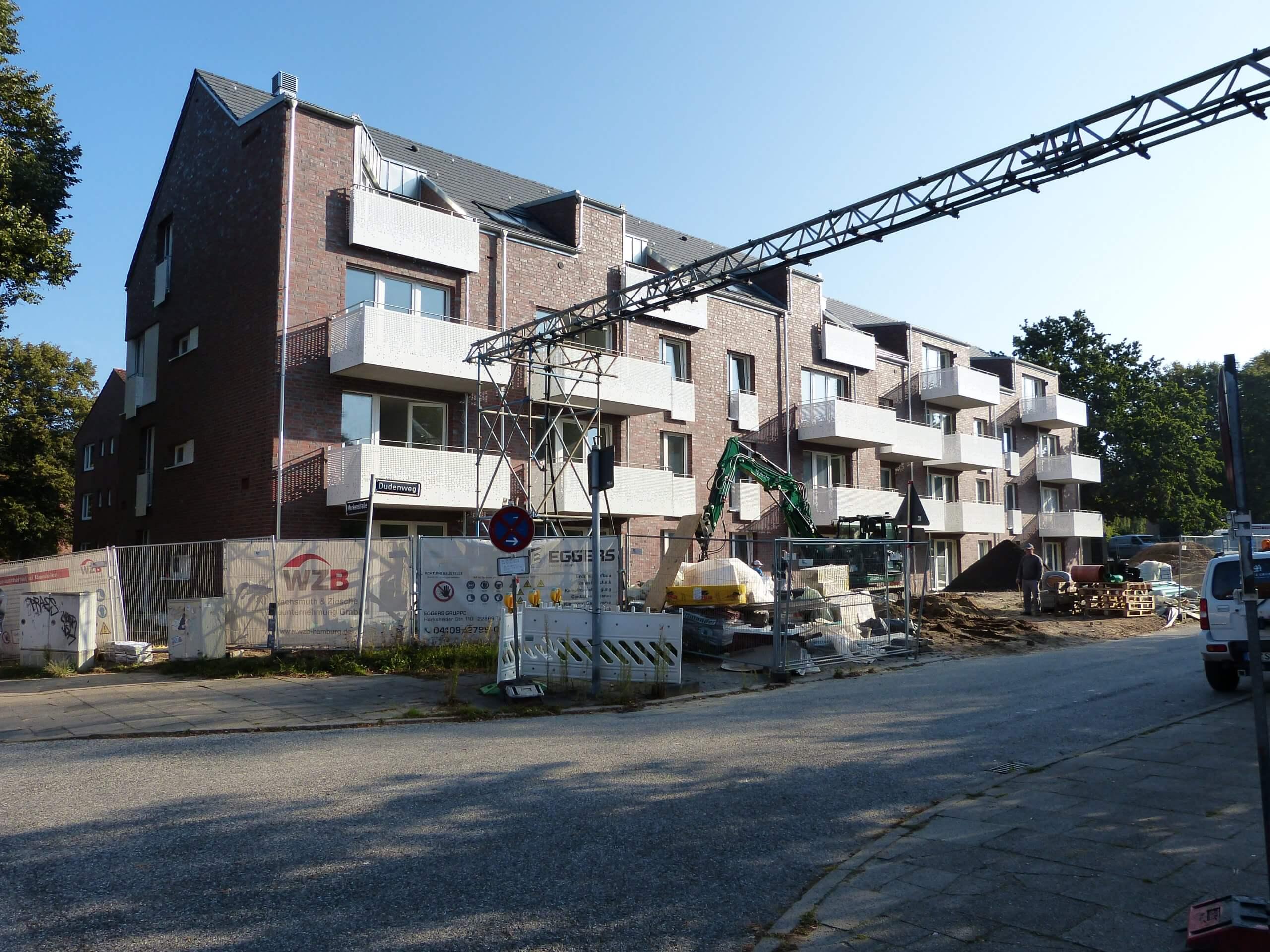 Quartiersentwicklung Dudenweg Hamburg